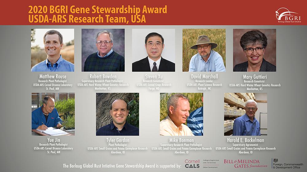 BGRI Gene Stewardship Winners