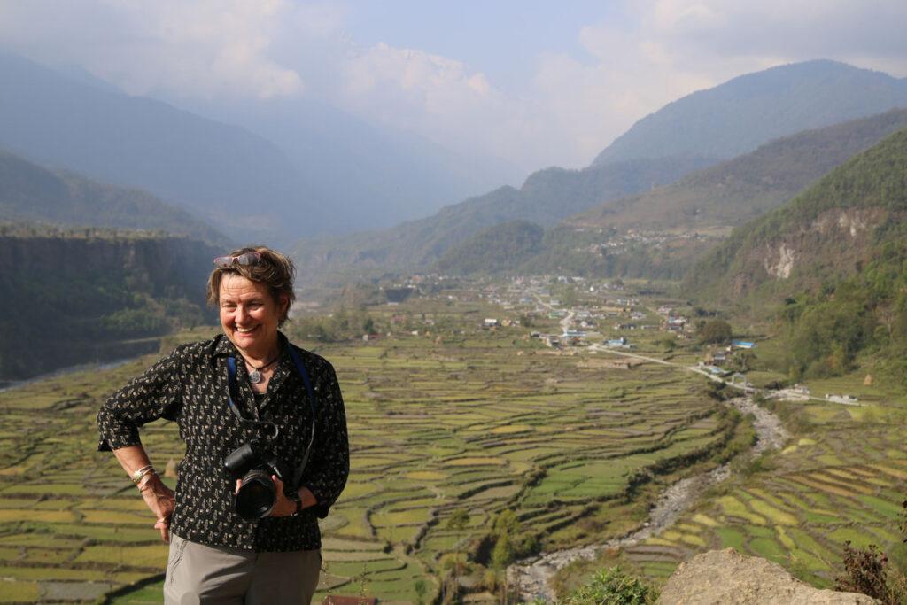 Linda McCandless in Nepal