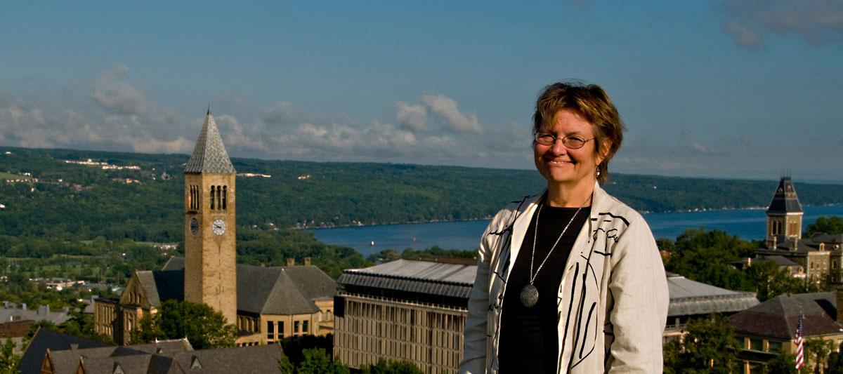 Linda McCandless earns honors from Borlaug Global Rust Initiative